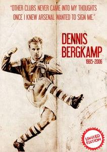 Image of BERGKAMP ART PRINT