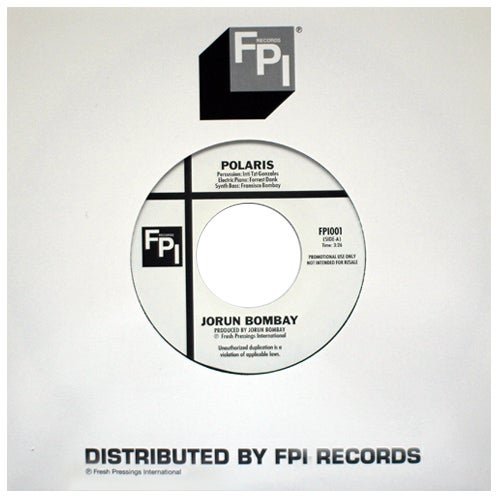 """Image of Jorun Bombay & The Rampagers 7"""" (FPI001)"""