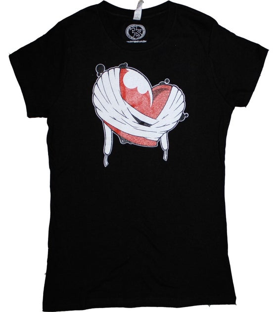 Image of Laced Heart(Black)