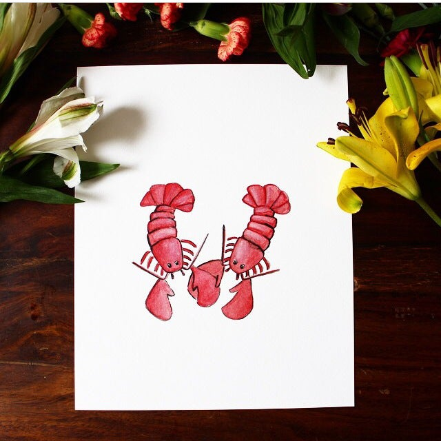 Image of you're my lobster