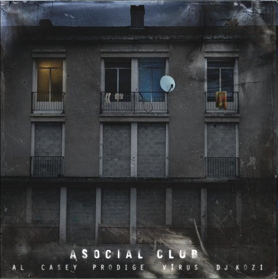"""Image of ASOCIAL CLUB """"Toute entrée est définitive"""" ALBUM DOUBLE VINYLE"""