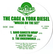 """Image of THE CAGE & YORK DIESEL """"WRECK ON THE SET"""""""