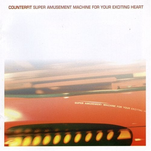Image of DISTRO: Counterfit - Super Amusement Machine For Your Exciting Heart LP (red or clear vinyl)