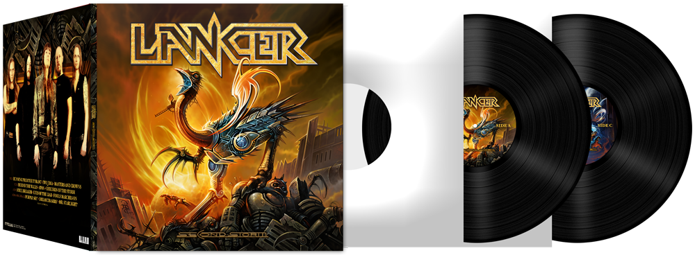 Image of LANCER - Second Storm [Double Gatefold Vinyl]