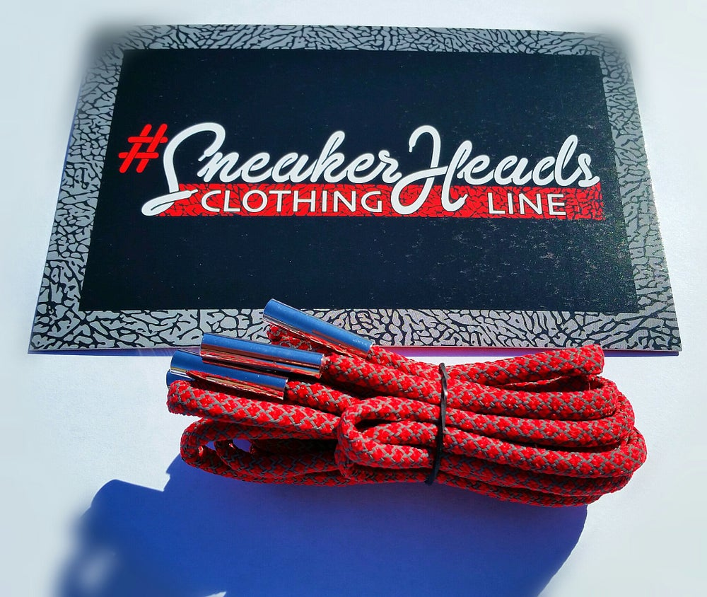 "Image of Exclusive ""Bulls Over Broadway"" Custom Rope Laces Pack"