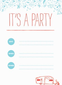 Image of Party Invitations