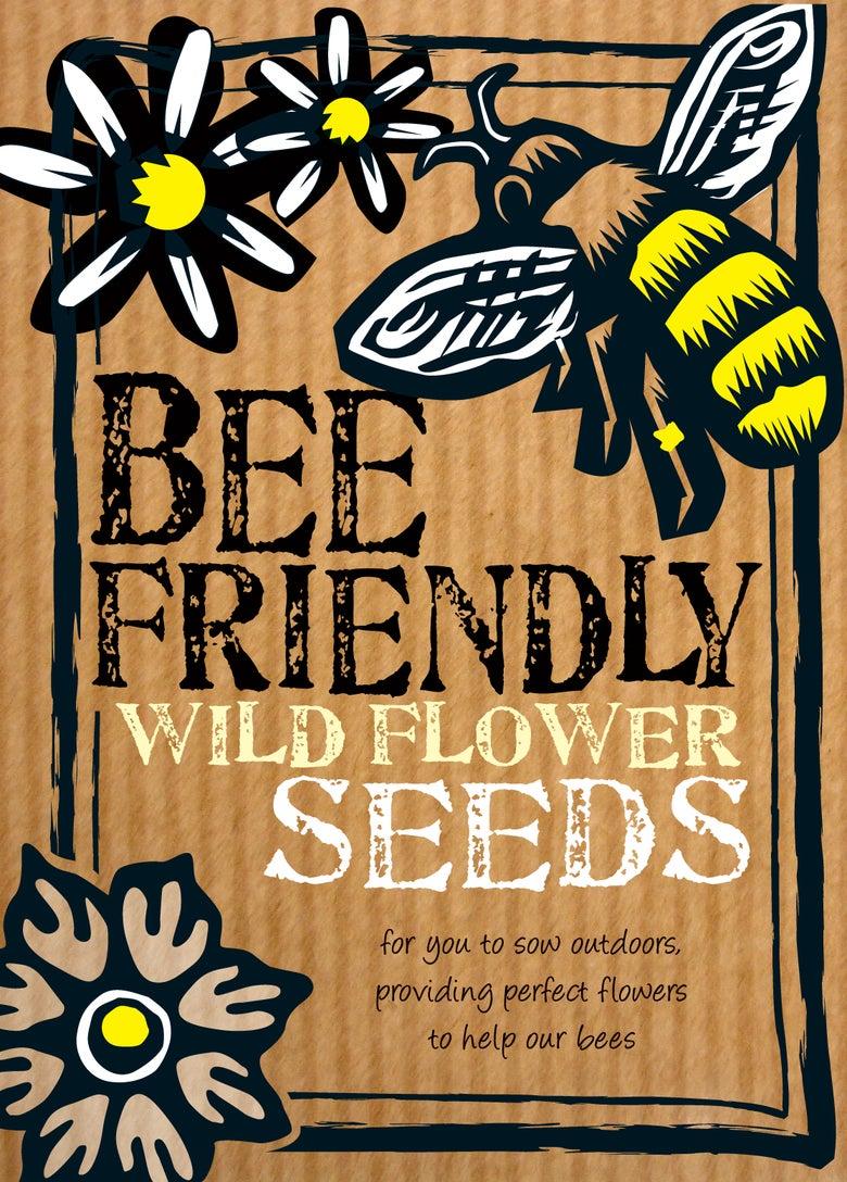 Image of Bee Friendly Wildflower Seeds