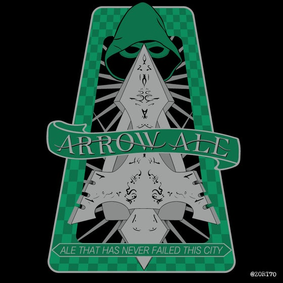 Image of Arrow Ale Sticker