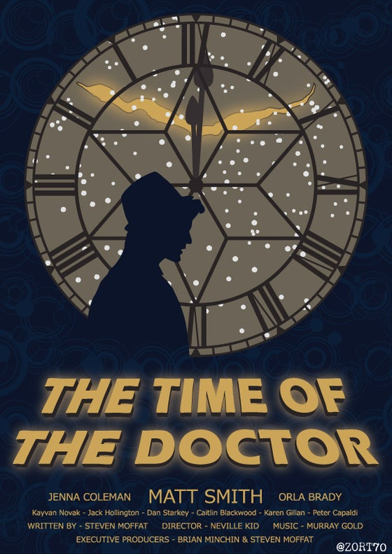 Image of Time Of The Doctor Poster