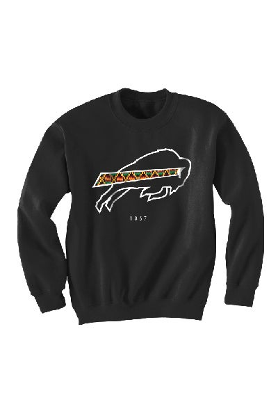Image of 1867 Collection - Black Sweatshirt