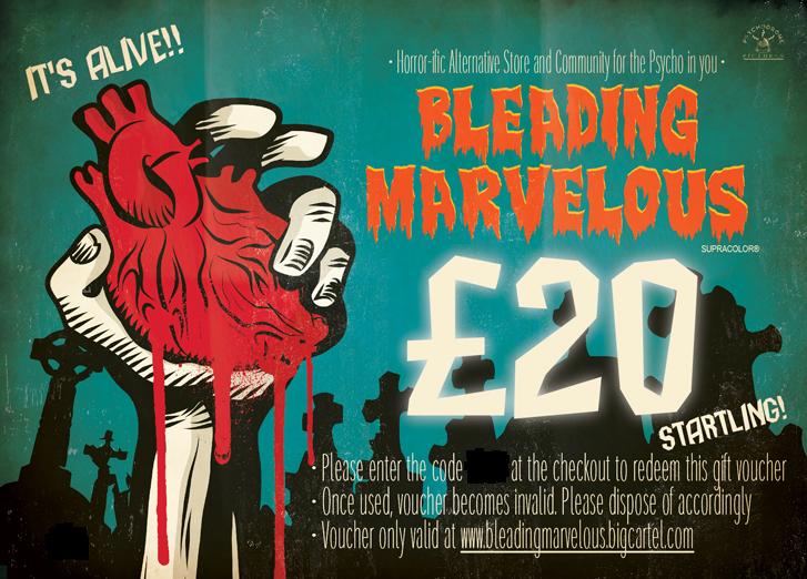 Image of Bleading Marvelous Gift Voucher £20