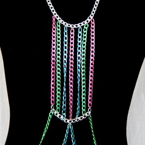 Image of Loren Candied Body Chain Harness