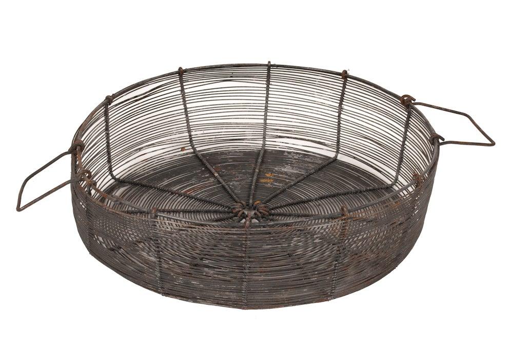 Image of Vintage Egg Basket From France
