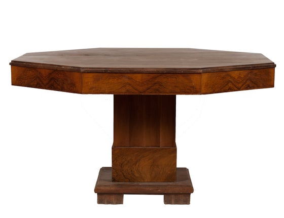 Image of Octagonal Dining Table from France