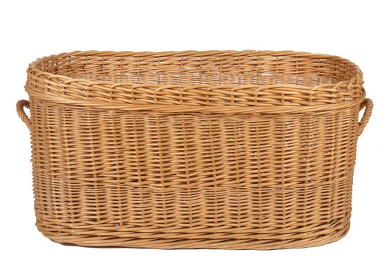 Image of Wicker Basket from France