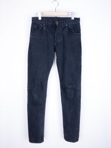 Image of Patrik Ervell - Washed Black Selvedge Jeans