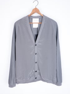 Image of Stephan Schneider - Contrast Front Button Up Cardigan