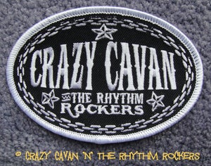 Image of CRAZY CAVAN <br> OVAL CLOTH PATCH