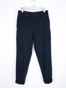 Image of Comme des Garcons Homme Plus - FW01 Grid Twill Carrot Pants