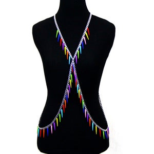 Image of Freya Candied Body Chain Harness