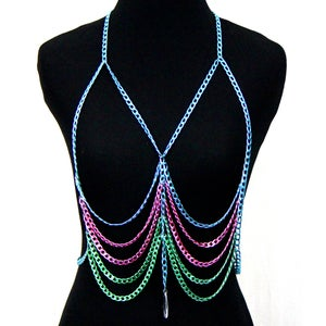 Image of Kellan Candied Body Chain Harness