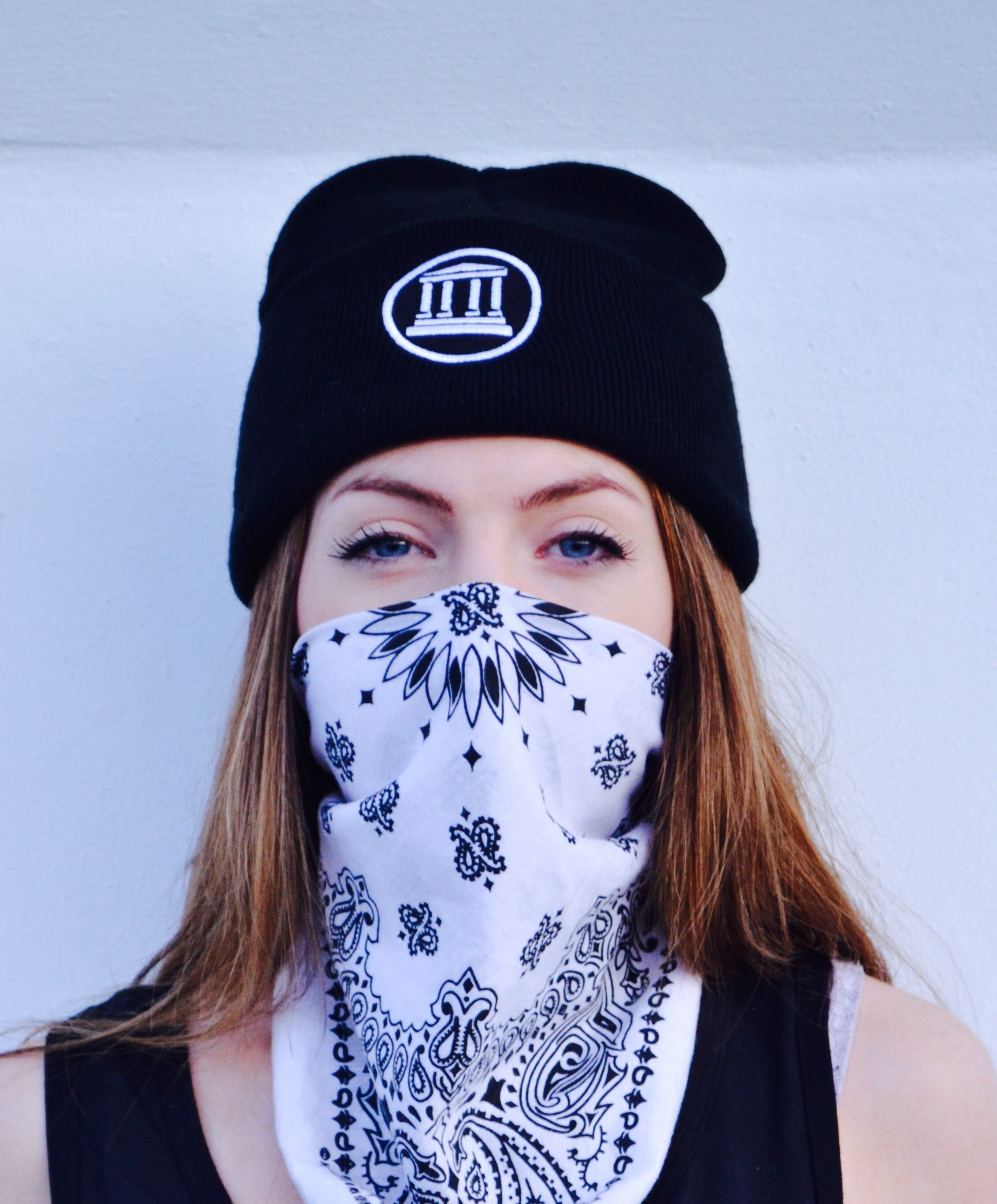 Asclepius Aesthetics Temple Beanie / TEMP.Clothing
