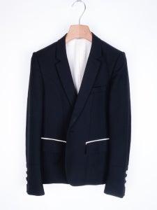 Image of Number (N)ine - SS09 Silk Trimmed Panelled Dinner Jacket