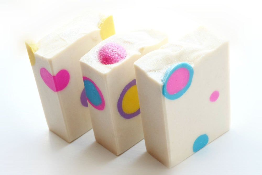 Image of BLOWING BUBBLES Handmade Soap
