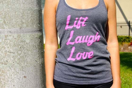 Image of Lift Laugh Love Racer Back