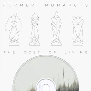 Image of Former Monarchs - 'The Cost of Living' Debut Album on CD