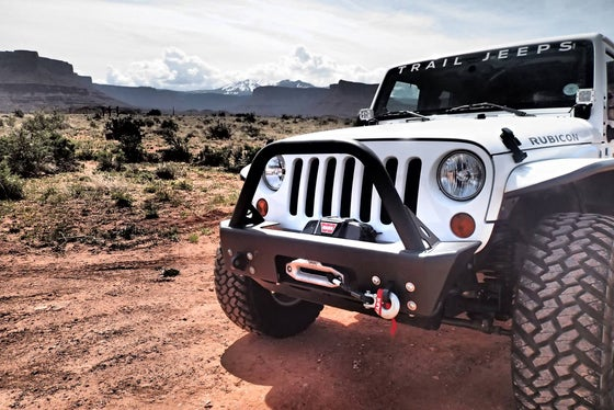 Image of Trail Jeeps Windshield Decal