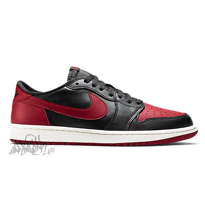 Image of AIR JORDAN 1 LOW OG - BRED - 705329 001