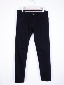 Image of Number (N)ine - Black Darted Skinny Jeans