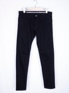 Image of Number (N)ine - Black Darted Skinny Jeans