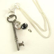 Image of Skeleton Key Pendant with Chain