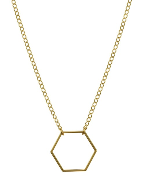 Image of HEXAGON necklace