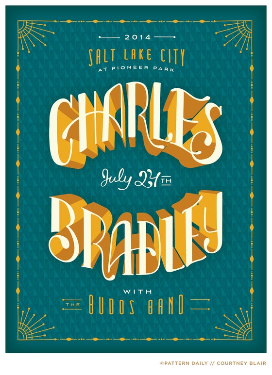 Image of Charles Bradley // Gig Poster