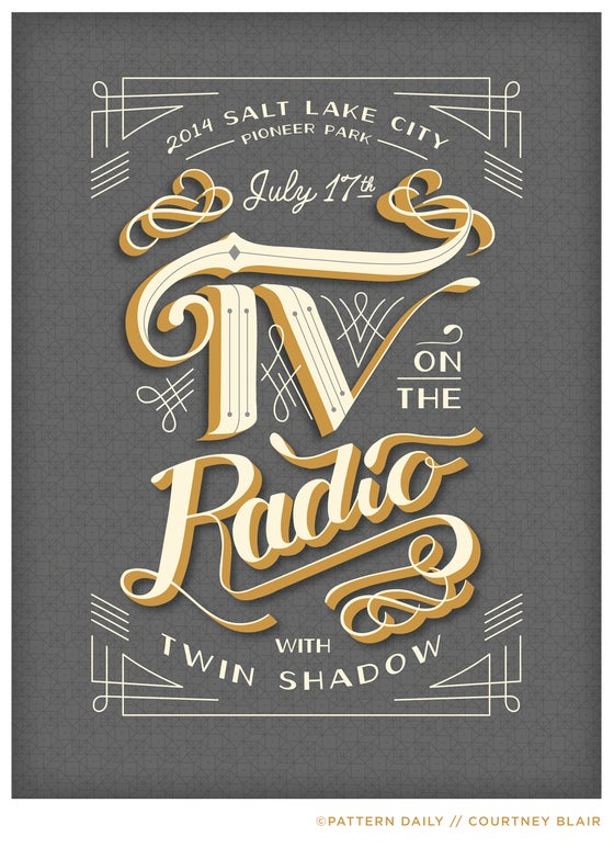 Image of TV on the Radio // Gig Poster