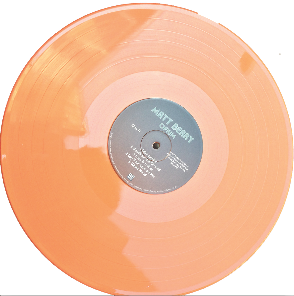 Acid Jazz Records Matt Berry Limited Edition Orange