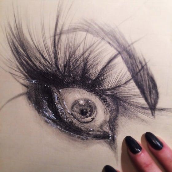 Image of Eye of crow