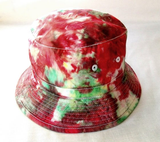 Image of Ragga tie dye bucket hat