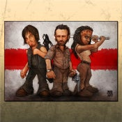 Image of TWD - Dream Team (14x20)