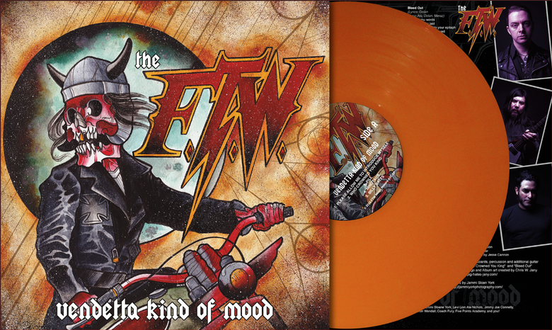 Image of Vendetta Kind of Mood LP - Complete with Digital Download Card
