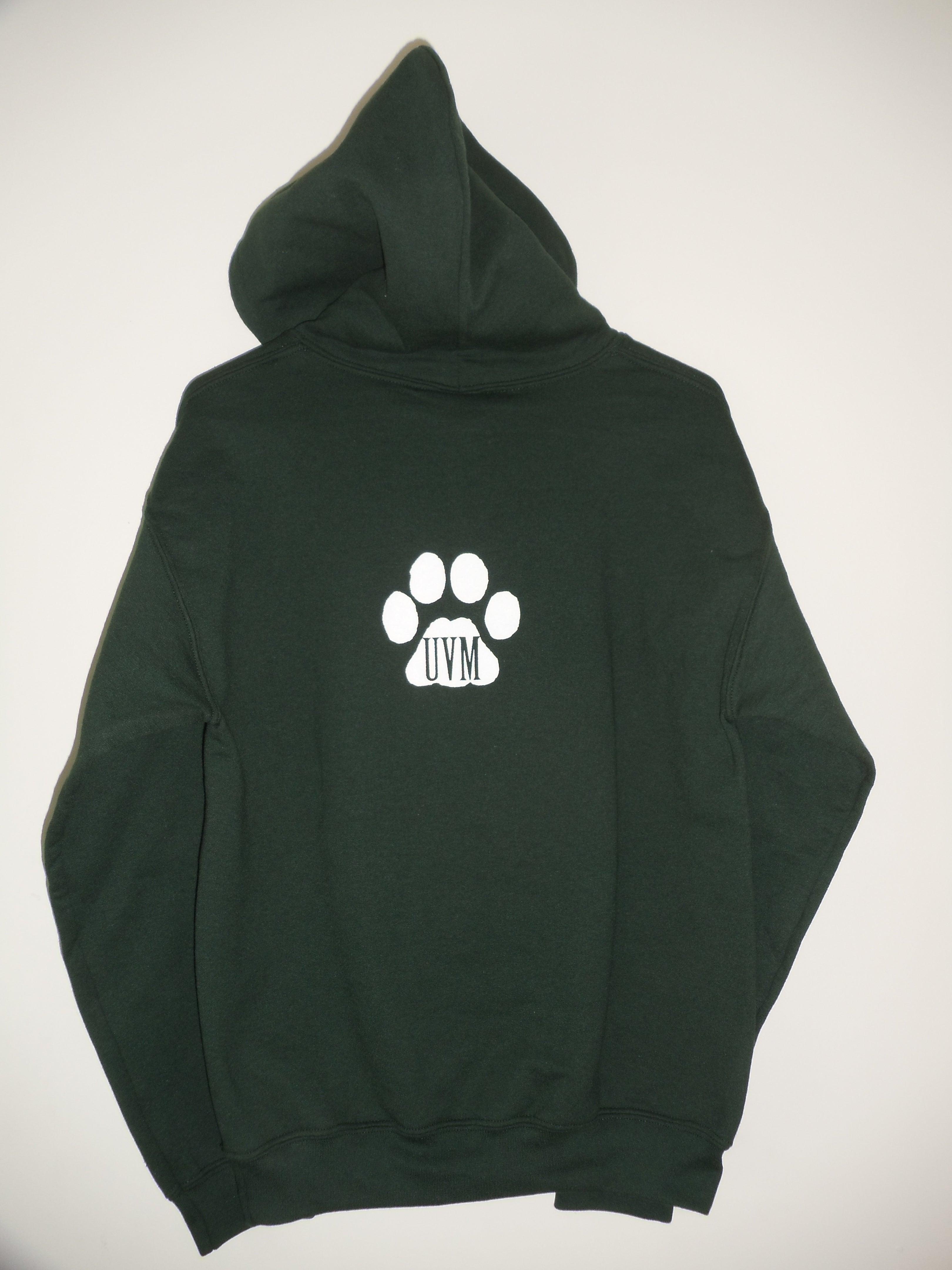 Lovermont 802 — University of Vermont (UVM) Hooded Sweatshirt w ...