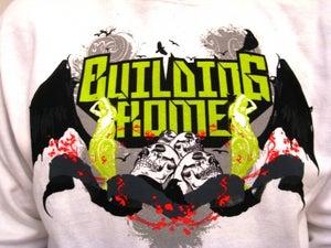 "Image of ""Skulls"" Hoodie (White)"