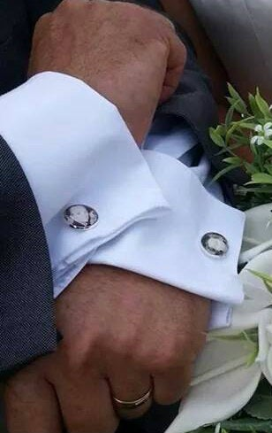 Image of Mens cufflinks with box