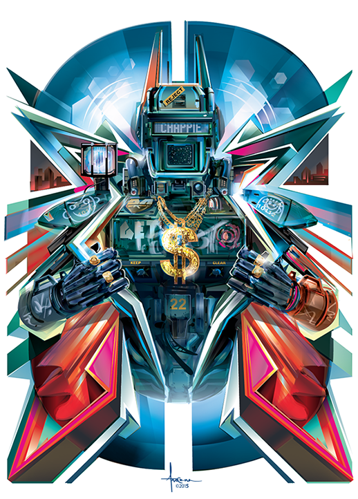 Image of CHAPPIE 18x24 Edition 50