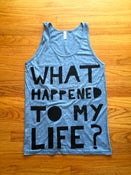 Image of WHTML Heather Blue Tank Top