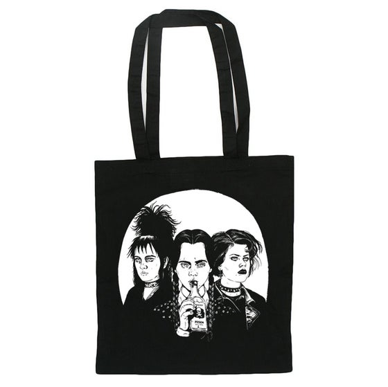 Image of Lydia, Wednesday and Nancy: Tote bag