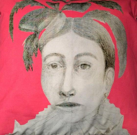 Image of Native Woman Pillowcase